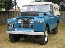 1968 Land Rover Series 2