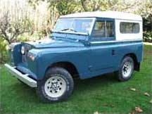 1969 Land Rover Series 2