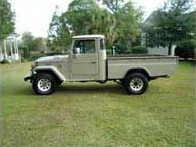 1980 Toyota Land Cruiser HJ45 Pick-Up