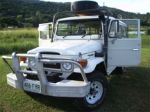 1981 Toyota Land Cruiser FJ45 Troop Carrier