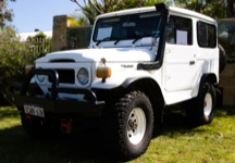 1982 Toyota Land Cruiser BJ42 LX