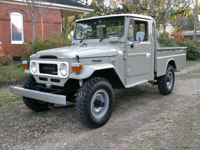 1979 toyota land cruiser hj45 pick up diesel fj40 toyota land