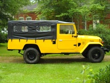 1981 Toyota Land Cruiser FJ45 Soft Top Troop Carrier