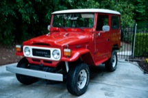 1981 Toyota Land Cruiser BJ42