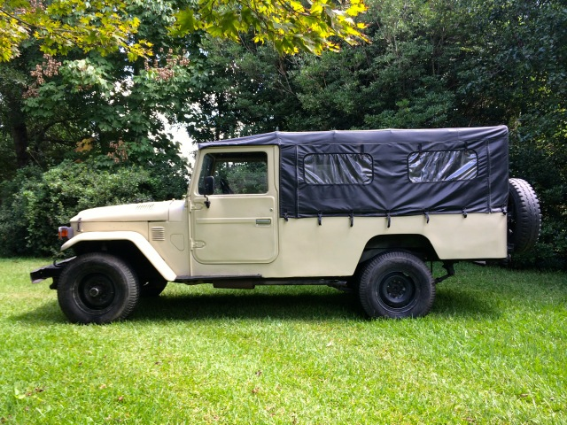 Find used 1981 Toyota Land Cruiser FJ45 LHD Factory Soft Top
